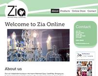 Zia Boutique - Branding & Ecommerce Store Design