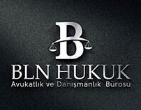 BLN HUKUK Logo Design