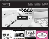 Thrill Creative - Branding & Site Design