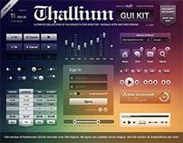 Thallium GUI Kit: FREE PSD
