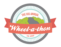 HIS Annual Wheel-a-thon Branding