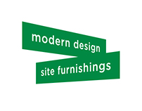 Modern design and site furnishings
