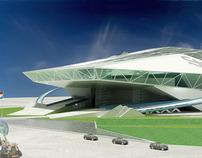 """2009 FIFA Stadium  """"Soviet Wings"""" sketch"""