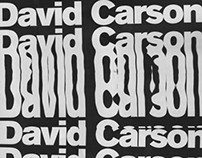 David Carson - Master Classes Grafika