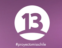 Canal 13 - Proyecto Miss Chile - Promoplan.
