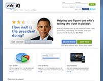 Vote iQ Home Page