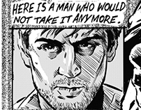 Taxi Driver Film Comic Adaption