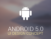 Android 5.0 UI Design Concept