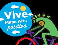 Vive Milpa Alta Positiva & XospaTronik collaboration