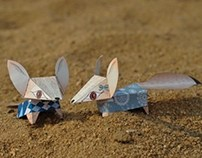 Fennec Paper Toys / 2011