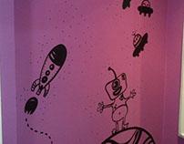 Ilustración Tienda Infantil / Pared