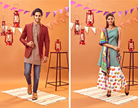 Art Direction for Myntra - Diwali mela