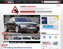 Autoblog Canada, UX/UI, Site Design & Widgets