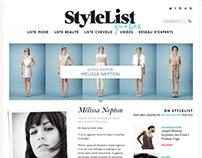 Stylelist Canada & Quebec, UX Design