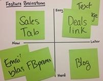 Feature Brainstorm