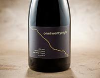 onetwentyeight Wine Label