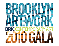 BRIC Contemporary Art 2010 Gala branding