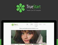 TrueStart - Health Care PSD Template ..
