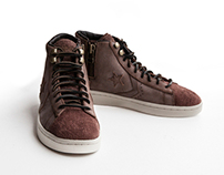 Converse pro leather side zip Product shoot