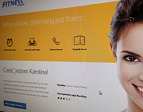 Fitness Fordon / webdesign