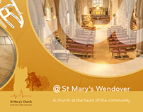 St Marys Church - Newsletter Cover Design