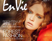 Autumn Sunlight for (Japanese) En-Vie Magazine