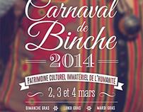 Affiche Concours Carnaval de Binche