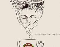Anúncio Top of Mind - Café Brasileiro