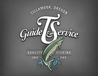 T&S Fishing Guide Services - Logo and Brand exploration