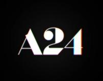 A24 Films | Identity