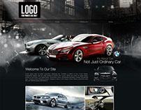 BMW Sales Website Design