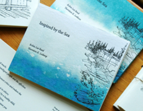 Handmade Art Book: Inspired by the Sea