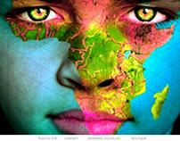Landing page for VUE D'AFRIQUE festival website