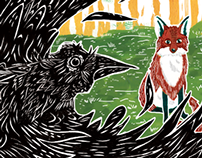 Aesop's The Fox and the Crow