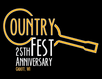 Country Fest Logo and T-Shirt Design