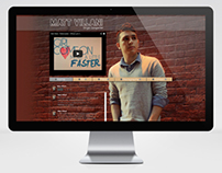 Web Design for Independent Artist