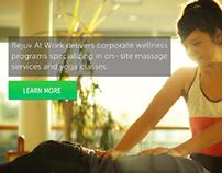 Rejuv At Work: Website redesign, SEO, Marketing Strat..