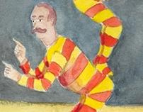 The australian acrobats, by Th.A. Yoghill