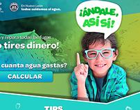 "Microsite: ""Andale así sí"""