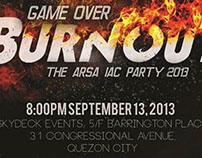 ARSA IAC Party 2013: Burnout