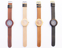 The Carpenter Collection ( Flexible Wooden Watches )