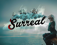Surreal Creations - Logo and Products