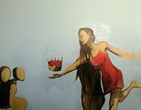 Pastes done @sideStstudios, SIde Street Studios, CT