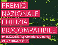 Premio Nazionale Edilizia Biocompatibile - 2013