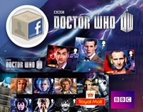 BBC Doctor Who / Royal Mail Facebook App