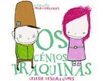 Paginação do Livro infantil 'Os pequenos Traquinas'