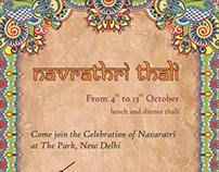 Navaratri E-mailer Design for The Park