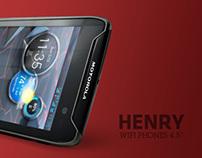 HENRY- Wifi phone