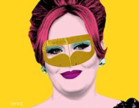 Adele Pop Art