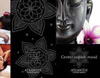 Asian massage - flyer design